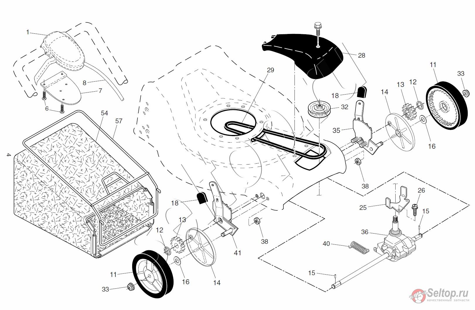 Бензиновая газонокосилка ремонт своими руками 13