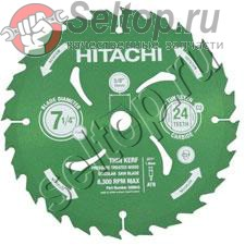 Tct Saw Blade 185mm-d16 Hole-nt24, hitachi